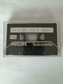 Philips Testcassette Fakas 14 Hi Fi mix