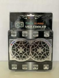 Titan twin turbo VGA heat pipe cooler Nvidia en ATI
