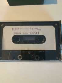 Philips testcassette Level 333Hz 2 5 mm 3104 108 1329.1