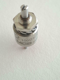 High End mini draadgewonde 100 Ohm potmeter