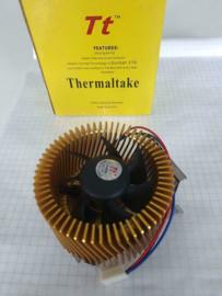 Thermaltake socket 370 intel cpu cooler. voor vintage PC