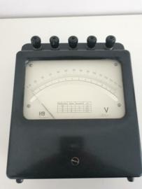 Oude bakeliet Voltmeter 0-150V