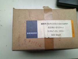 Siemens 0,33uf 100V MHK