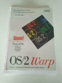 IBM OS/2 Warp versie 3 CD-ROM NOS sealed