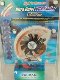 Zalman VGA Cooler VF700-Cu Heatsink mounting holes
