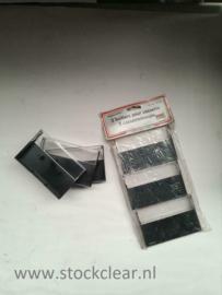 Cassette opbergdoosje set van 3 stuks