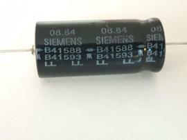 Siemens 2200uf 16v axiaal