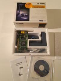 PCI video caputure card incl. composite video 300K camera
