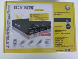 "Icybox IB-868B 3.5"" all in one cardreader USB3.0 1x e-sata"