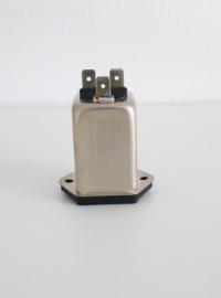 SCHAFFNER IEC /EN Filter EURO net chassis 250V (partij)