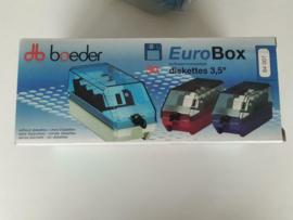 """3,5"""" diskette opslag box voor 50 diskettes nieuw (partij)"""