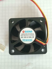 Titan TFD-501512C DC 12V ventilator 50mm 3 pin