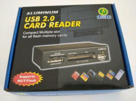 Lian li Aluminium USB 2.0 Multiple-Slot Card CR-36
