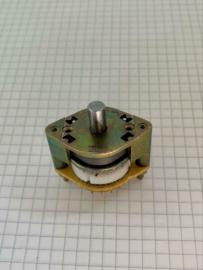 ITT rotary switch 4 standen draai schakelaar 4 contacten