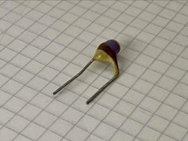 Philips 470pF 500V pin up keramische condensator 7,5mm steek