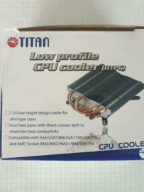 Titan TTC-NC25TZ/HS low profile CPU cooler AMD/Intel