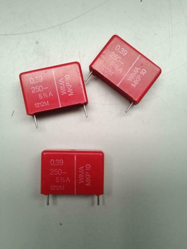 Wima 0,39 UF 250V MKP condensator (grote NOS voorraad)