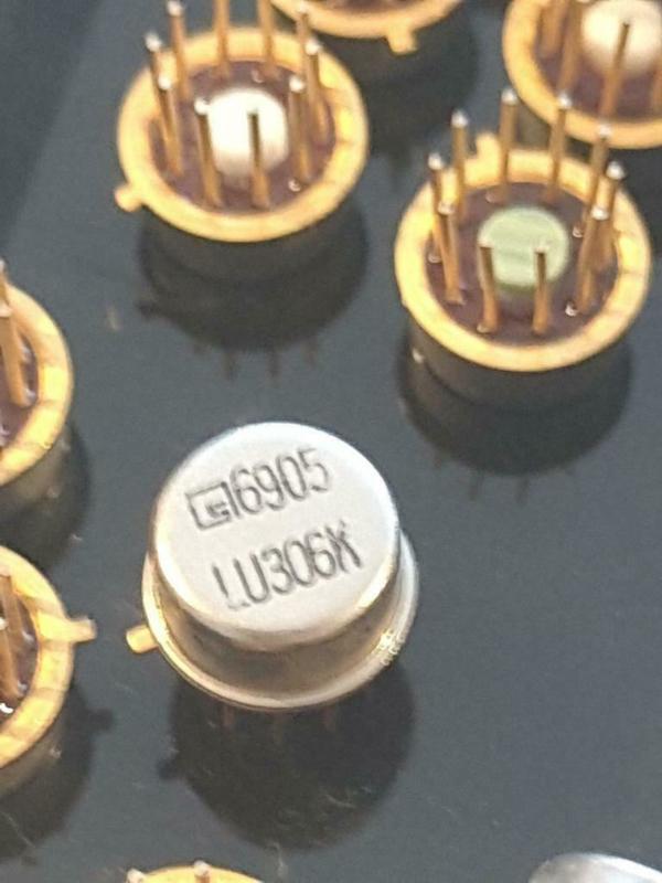 Signetics LU306K metal can8 aviation part