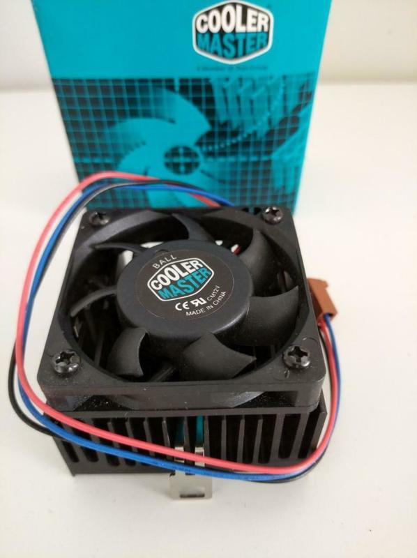 Cooler Master DP5-5F11 - socket 7/370 heatsink and fan NOS