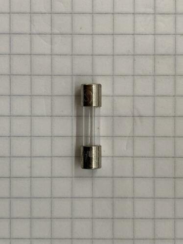 Glaszekering  63mA 250v 20X5mm