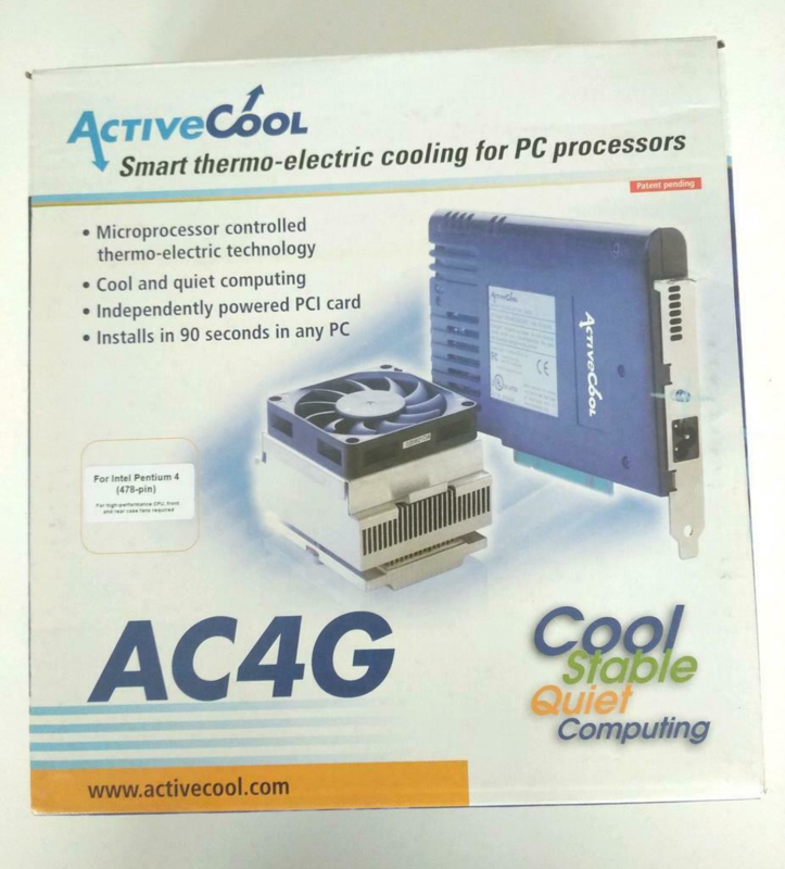 Activecool AC4G Thermo Peltier electric cooling P4 478