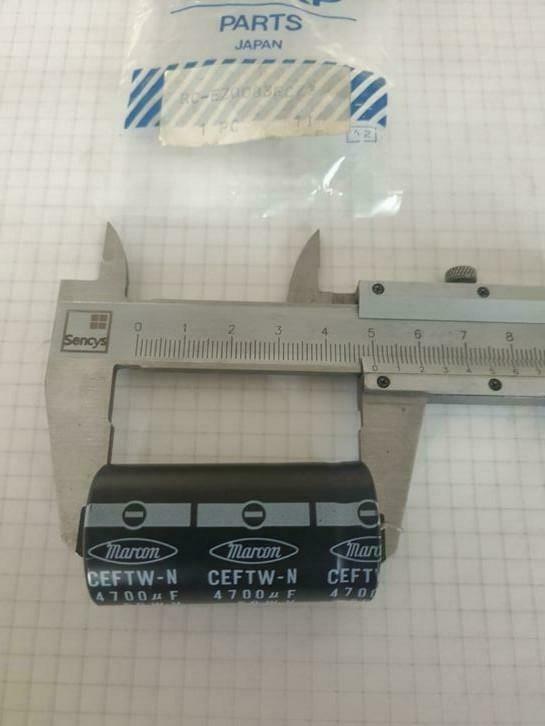 Marcon 4700uf 50 elco 50mmx25mm