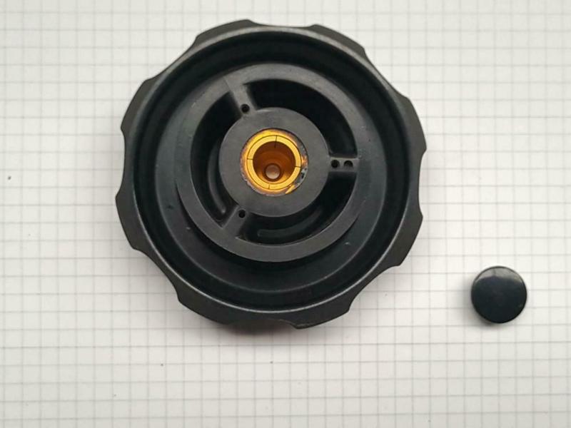 Knop 80mm vintage Variac 10mm as