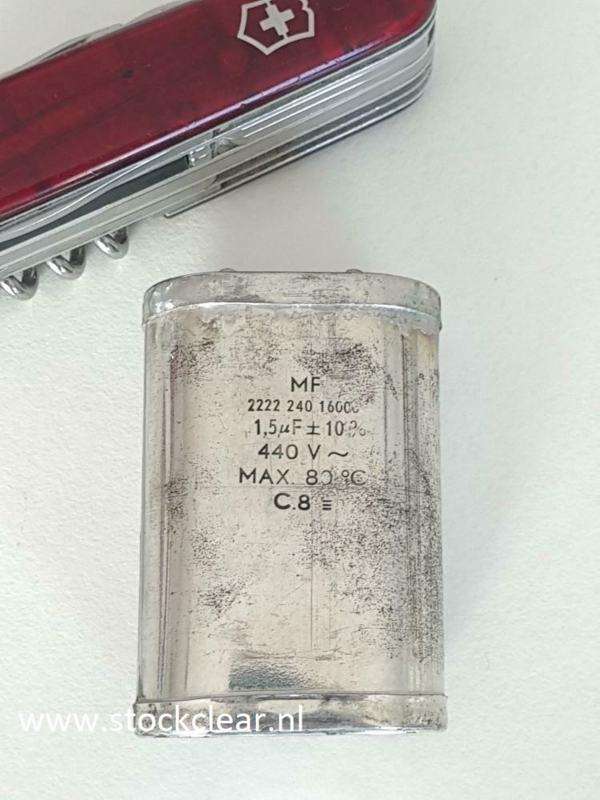 MF 1,5uf 440v~  vitnage condensator