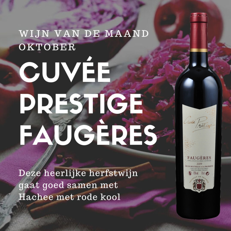 Cuvée Prestige | Faugères met Hachee en rode kool