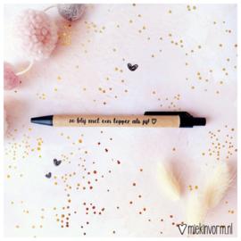 Pen - Zo blij met een topper als jij!