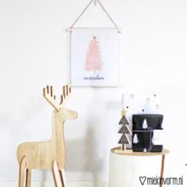 Textielposter 'Ohhh Denneboom'