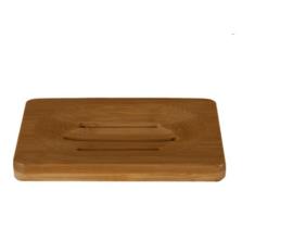 Zeep Houder van Bamboe voor twee Shampoo Bars en Zeep