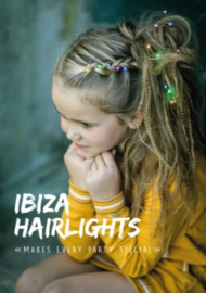 Ibiza Hairlights 'Multi color'