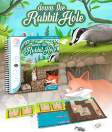 SmartGames - Down the Rabbit Hole 5+ (magnetisch)