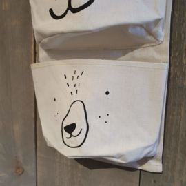 Hangende opberger met 3 zakken