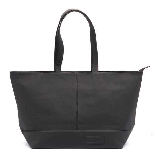 Zebra Natural Bag XXL - Zwart