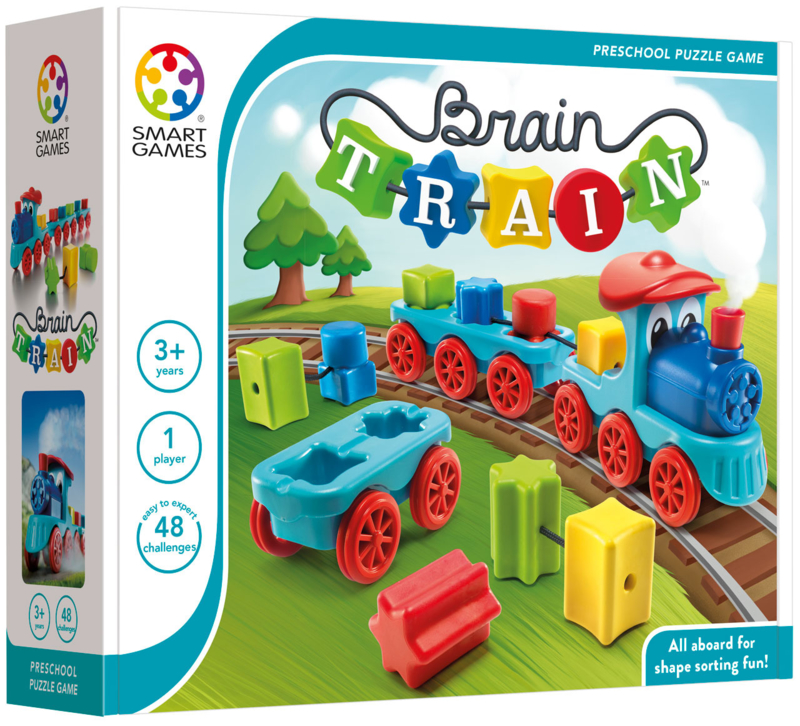 SmartGames - Brain Train 3+ (preschool)