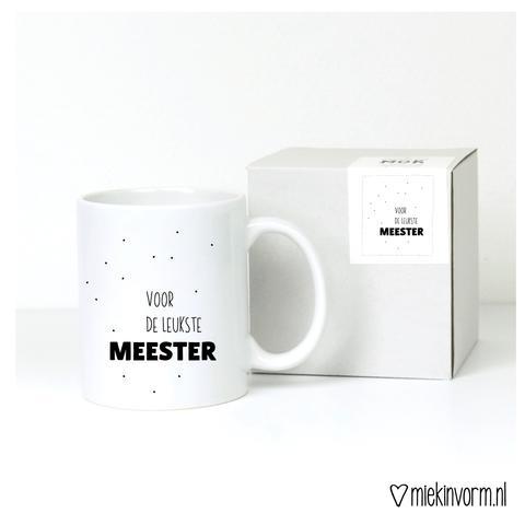 Mok - Voor de leukste meester