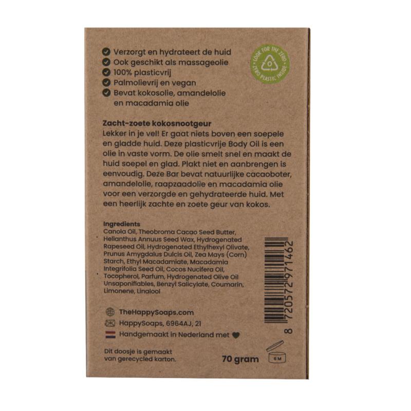 Body Oil Bar - Coco Nuts