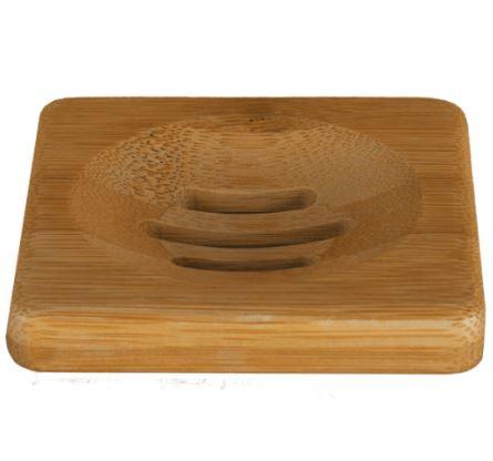 Zeep Houder van Bamboe voor één Shampoo Bar