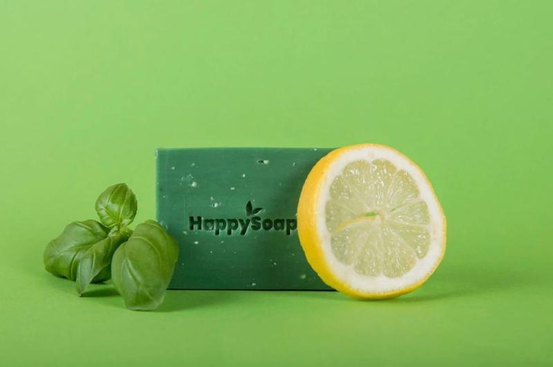 Happy Body Bar – Citroen en Basilicum