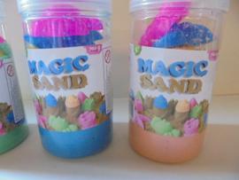 Magic sand 3 kleur 700 gram prijs per stuk