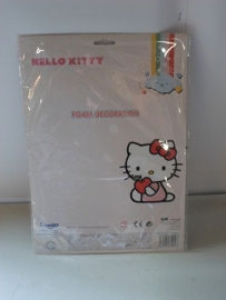 Hello Kitty Foam Decoration  prijs per stuk