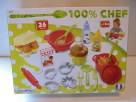 100% Chef doos speel keuken artikelen prijs per doos