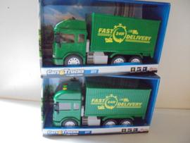 Toi Toys Cars & Trucks city met licht en geluid afm 32x19x12 cm prijs per stuk