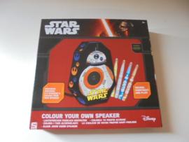 starwars colour your own speaker 27 x 27 cm prijs per stuk