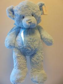 pluche mijn eerste teddy blauw 50 cm prijs per stuk