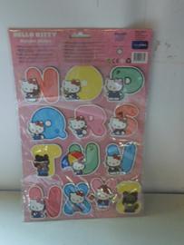 partij 50 stuks Hello Kitty Alphabet Stickers prijs per partij a 50 stuks ( beschikbaar 100 stuks )
