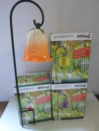 partij Keramik bloem tuin windklokken 24 stuks prijs per partij ( beschikbaar 72 stuks )