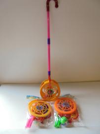kinder loopwiel met bal 60 cm assorti kleur prijs per stuk